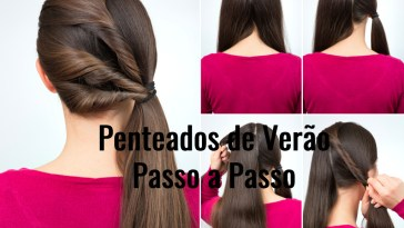 hairstyle twisted pony tail tutorial picture id666603108 - Penteados Verão 2018 Passo a Passo