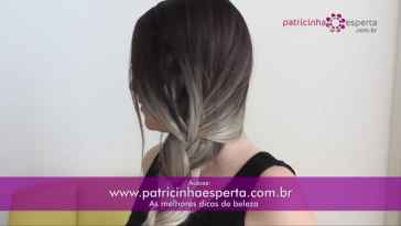 IMG 00048 - Penteado despojado com trança