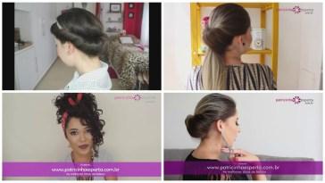 penteado dia dos namorados - Penteados Para O Dia Dos Namorados: Fáceis e Rápidos