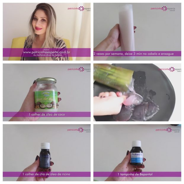 Colagem sem shampo bomba 621x621 - Shampoo Bomba Para O Cabelo Crescer Rápido