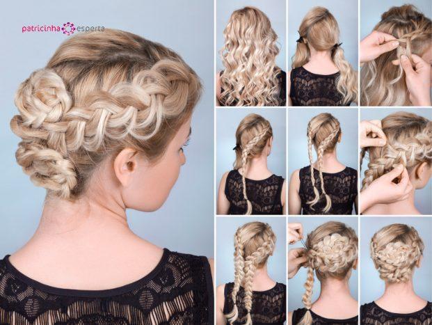 hairstyle braid tutorial picture id524170502 621x467 - Penteados Para Madrinhas De Casamento 2017