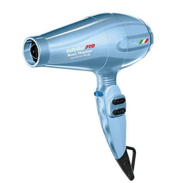 secador babyliss pro nano titanium portofino 6600 ion azul 2000w 621x621 - Como Escolher o Melhor Secador de Cabelos?