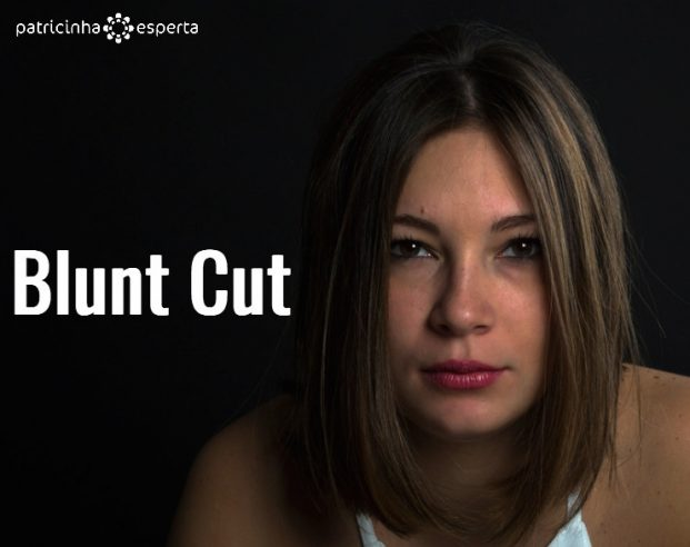 Blunt Cut 621x492 - Cabelos Curtos Cortes 2018 - Tendências