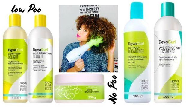 Deva Curl Decadence Duo Kit Shampoo No Poo 355ml e Condicionador One 355ml  621x358 - O que a Grávida pode Usar no Cabelo?