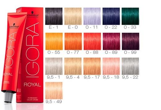 Igora Royal linha Especiais - Tendência – Cabelo de Vinho Quente