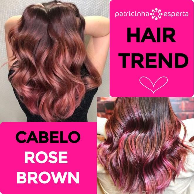 cabelo rose brown - Tendência de cabelo Outono/Inverno 2018: Penteados, Cores e Cortes