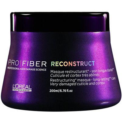 Loreal Pro Fiber Reconstruct Mascara 200ml - Melhores Máscaras Reconstrutoras