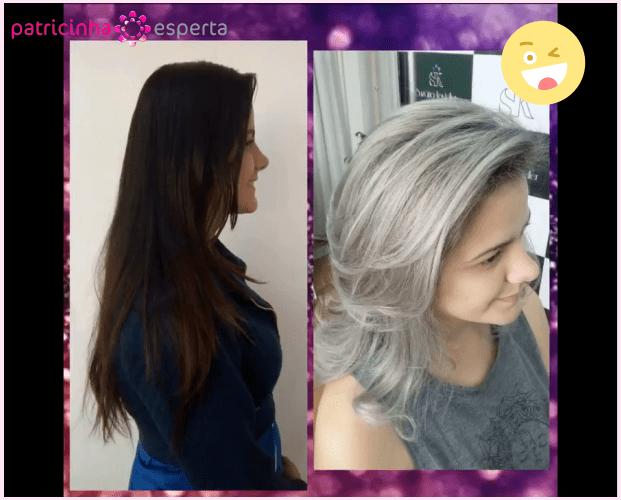loiro platinado antes e depois - Como Fazer Luzes Platinadas