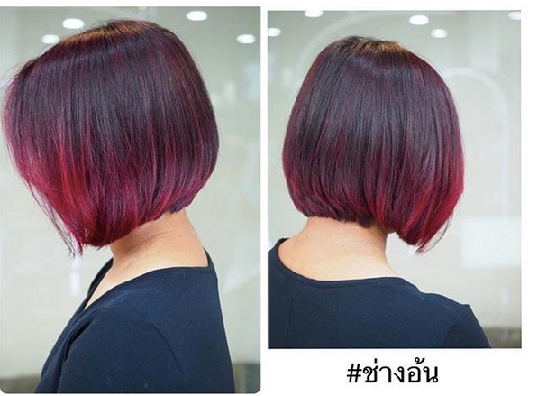f - Ombre Hair Em Cabelo Curto: Fotos Inspirações, Tendências de Cores