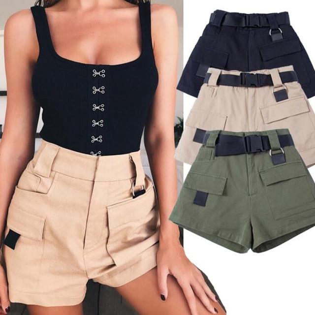women military shorts - Shorts do Verão 2019: Tendências, Looks Para Copiar