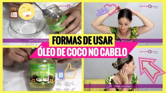 como usar oleo de coco no cabelo - Como Usar Óleo de Coco No Cabelo: Melhores Formas de Usar, Vídeos