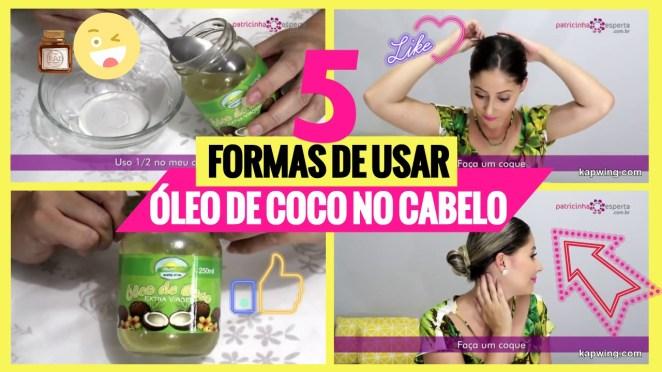 oleo de coco cabelo - Melhores Óleos Vegetais Para Cabelos: Como Usar, Benefícios