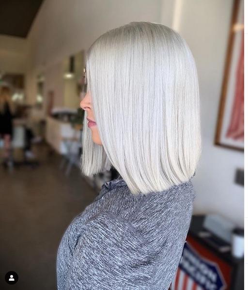 cabelo platinado 3 - Cabelo Platinado Curto 2019/2020: Tendências de Cortes, Cores, Fotos