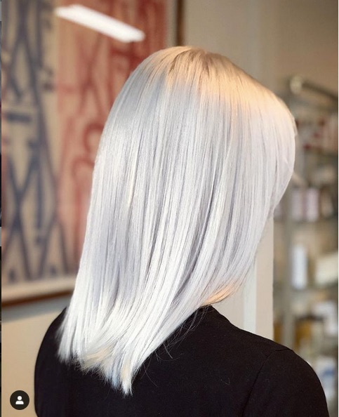 cabelo platinado 5 - Cabelo Platinado Curto 2019/2020: Tendências de Cortes, Cores, Fotos