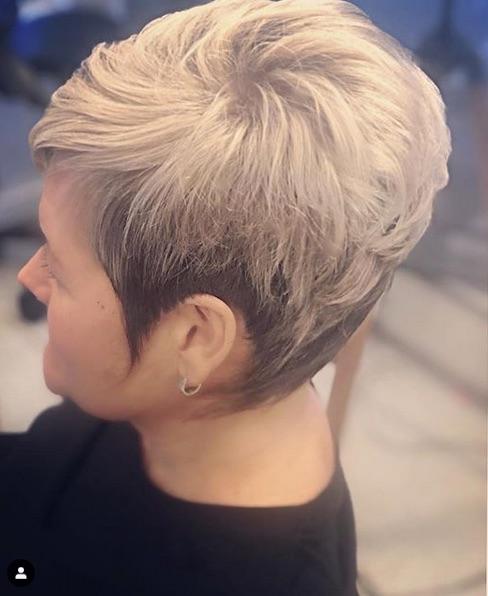 cabelo platinado - Cabelo Platinado Curto 2019/2020: Tendências de Cortes, Cores, Fotos