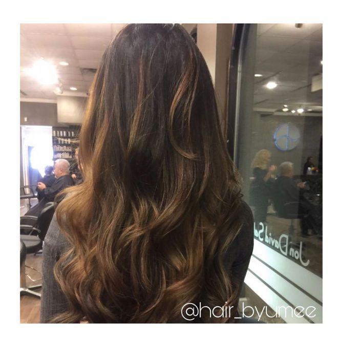 hair byumee 61591068 2319005608374184 891758475983670702 n - Cabelo Castanho Chocolate: 50 fotos inspirações, dicas de cuidados