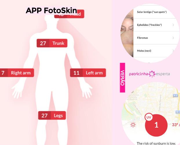 FotoSkin - Apps Que Avisam a Hora Certa de Passar Filtro Solar