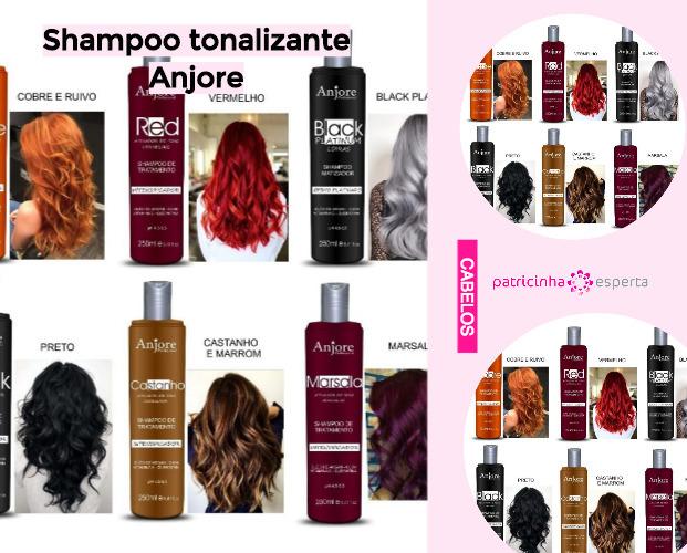 Shampoo tonalizante Anjore - Shampoo Tonalizante ✅ Como Funciona, Qual o Melhor? Como Usar