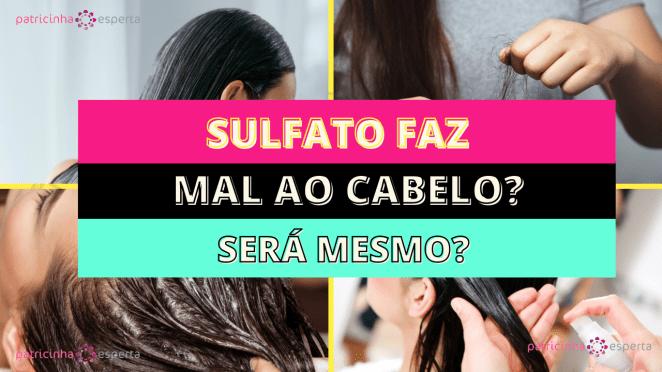 Como Escolher o Shampoo Certo1 2 - Sulfato faz mal ao cabelo – Será mesmo?