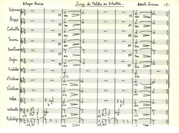 Manuscrito de Juego de Pelota en Xibalbá