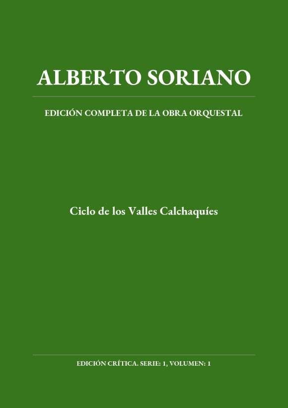 """Portada de la edición crítica de """"Ciclo de los Valles Calchaquíes"""""""