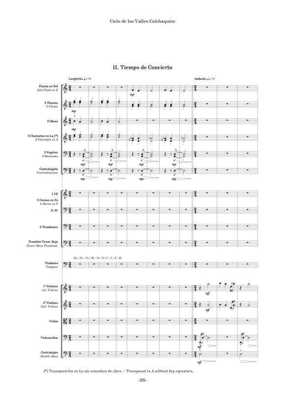 """""""Tiempo de Concierto"""", segundo movimiento de """"Ciclo de los Valles Calchaquíes"""" (edición crítica)"""