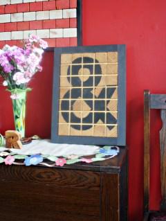 ampersand : wood wall art