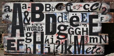 some words hurt - typographic art