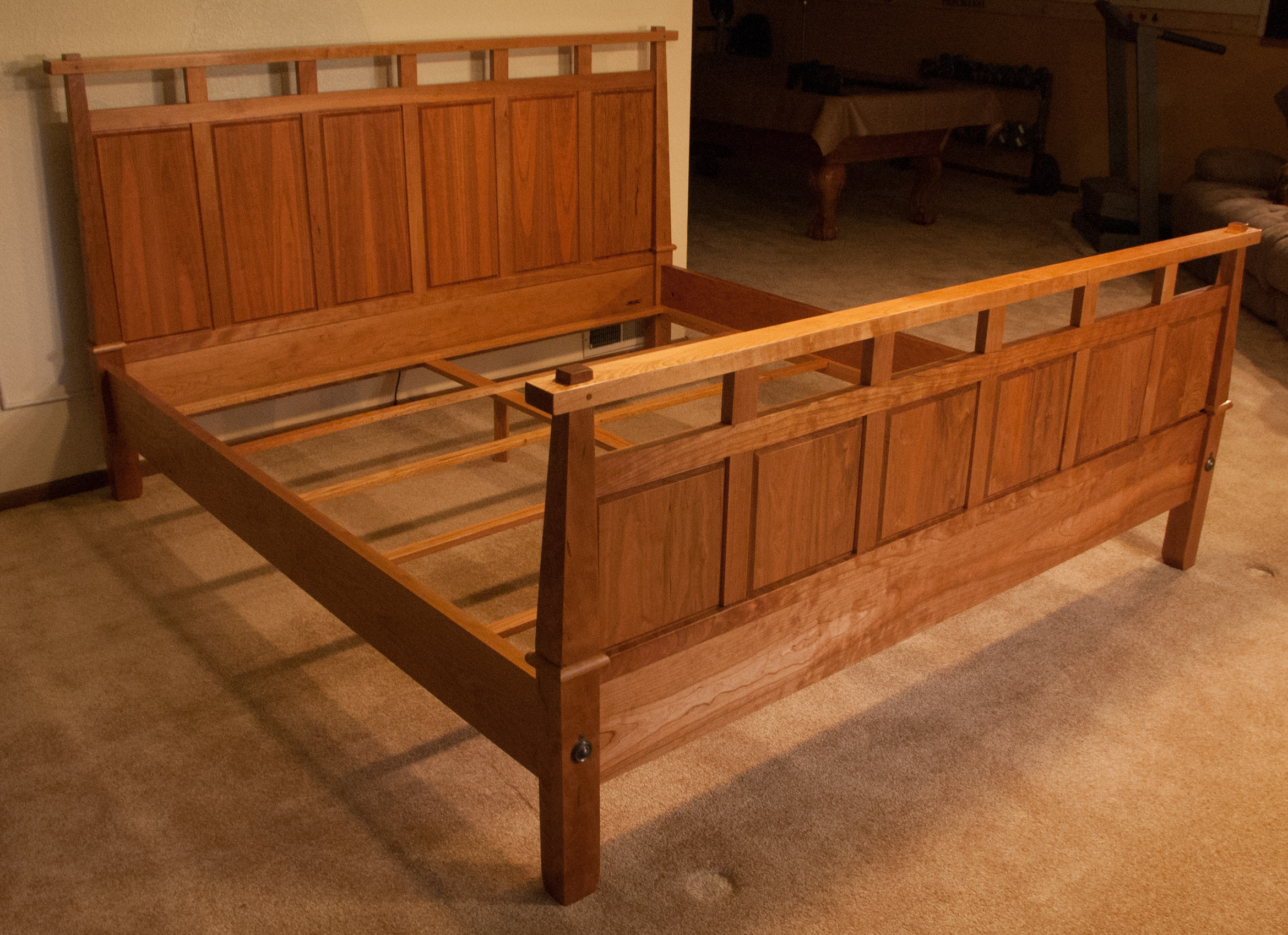 A Frame And Panel King Bed For 2013 Patrick A Mckinley