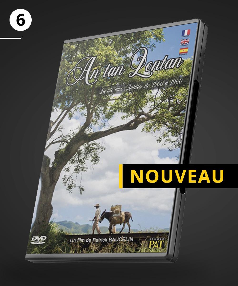 """DVD du film """"An tan lontan,"""
