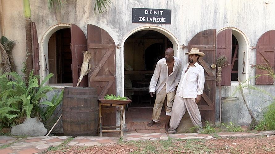 Fontaine de Case Pilote pour le film An tan lontan de Patrick Baucelin