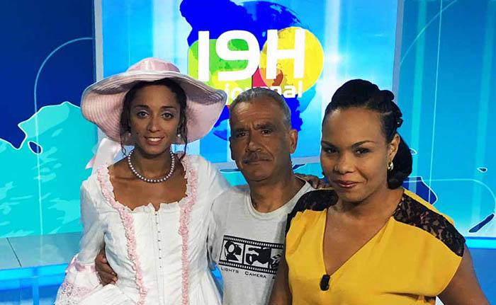 Journal Télévisé de 19H ATV avec Sabrina DORÉ, présentatrice