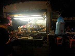 Satay food truck