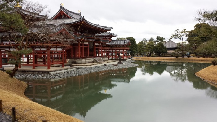 The Byodo-in temple in Uji