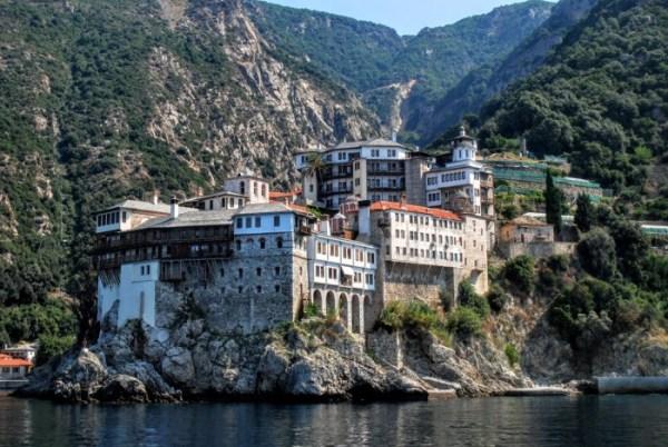 A trip to Mount Athos: Gregoriou monastery