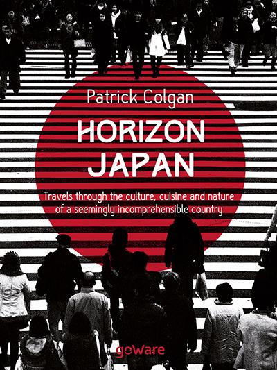 Horizon Japan book cover, by Patrick Colgan