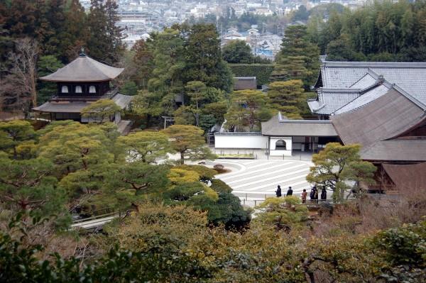 Ginkaku-ji, the silver Pavillion, Kyoto