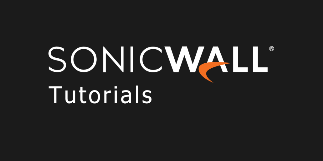 Find SonicWall Hidden Configuration Page