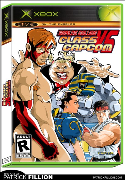 Class Comics VS Capcom - Parody Video Game!