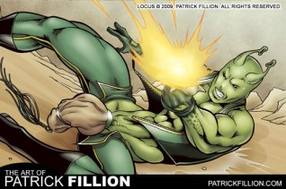 Locus fights for his life!