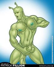 Locus in the style of Bruyce Peters, as he appears in Boytoon Adventures #1.