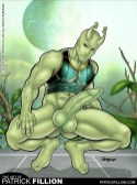 Locus without his pants.