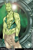 Locus as he appears in Heroes: The Men of Patrick Fillion.