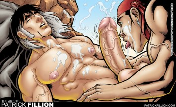 Zahn gets a blow job from Jonah. Excerpt from Striptease #1