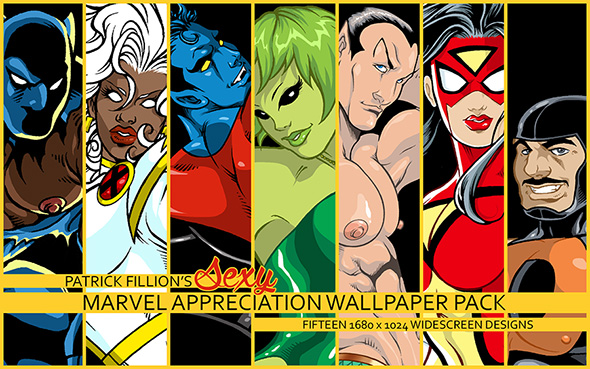 Marvel Appreciation Wallpaper Pack Pic - Click to Download!