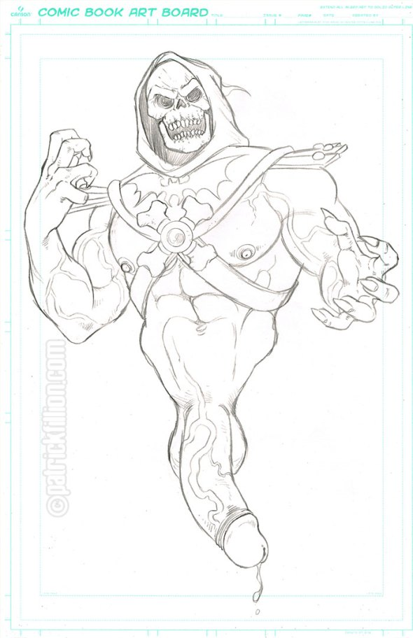 Skeletor by Patrick Fillion - The Pencils