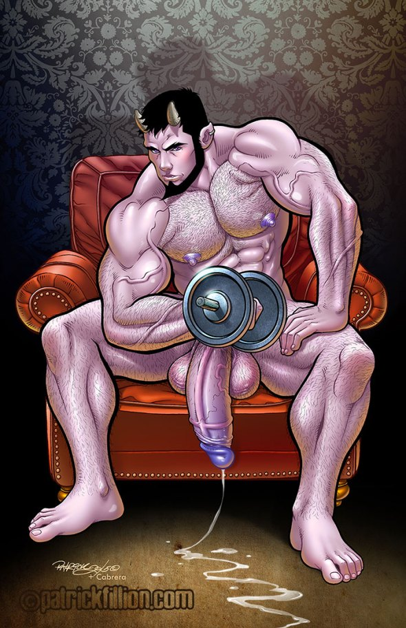 Deimos Pumping Iron