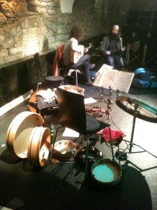Rehearsing in Bern, Switzerland.