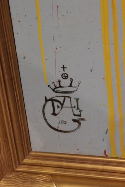 Signature (self-portrait detail)