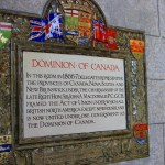 Dominion of Canada plaque